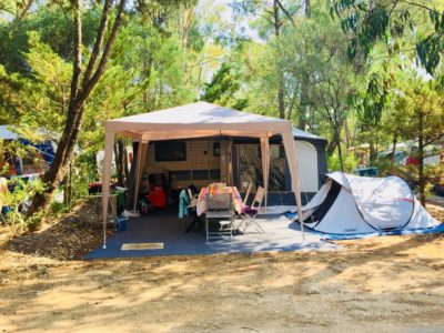caravan camper van pitches Hyères