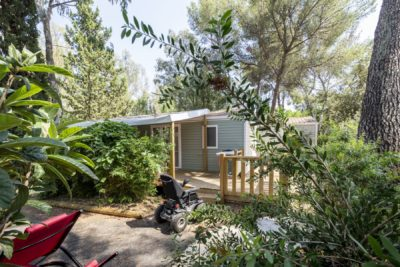 Reduced-mobility mobile home South of France