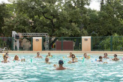 Heated swimming pool Pools Aquagym Sport Holidays