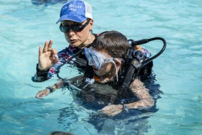 Swimming pool Diving baptism Family holidays
