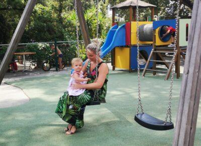 Play area - family holiday