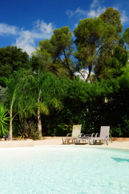 South of France Water park Heated pool Sun Relaxation
