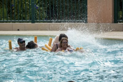 Heated swimming pools Activities Family holidays