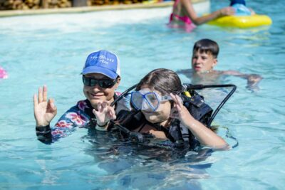 Camping Heated swimming pool Diving Children