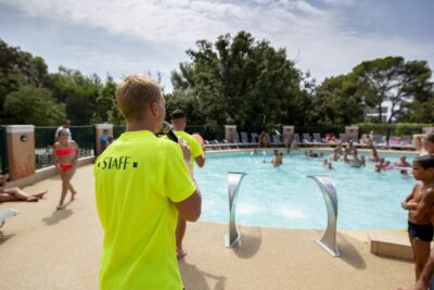 Camping Côte d'Azur Heated pool Family holidays Animation