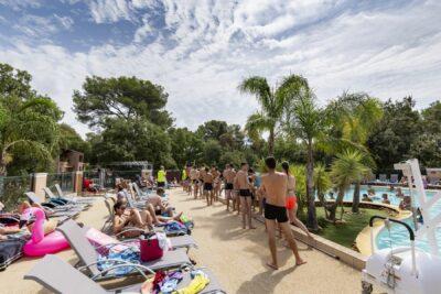 Bormes-les-Mimosas Aquatic complex Heated swimming pools Holidays