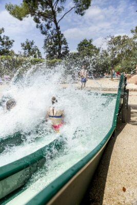 Lavandou Water sports area Swimming pool Paddling pool Slide Children animation