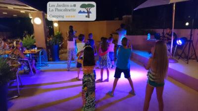 Hyères campsite entertainment holiday friends