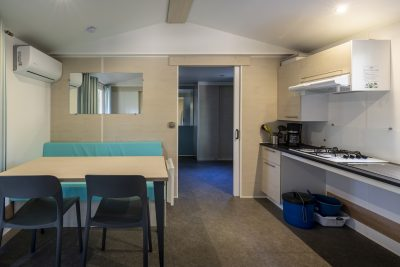 Space and comfort in adapted mobile home