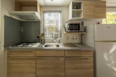 Air-conditioned mobile home - Large family holiday comfort low price