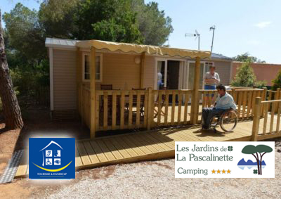 Campsite Provence Accessible Handicap PRM