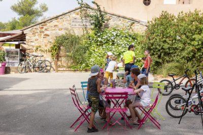 Seaside campsite - activities and kids club