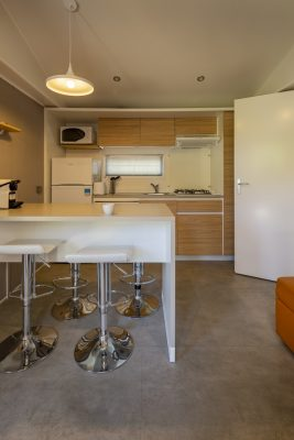VIP mobile home modern kitchen