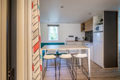 Villa kitchen – South of France holiday - mobile home 1
