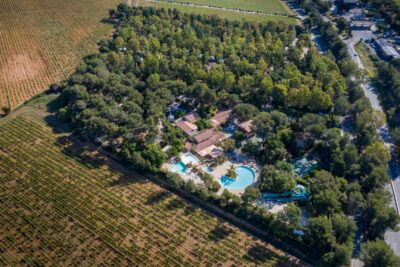 Green eco-friendly campsite in the Var, French Riviera-Côte d'Azur with 4 pools