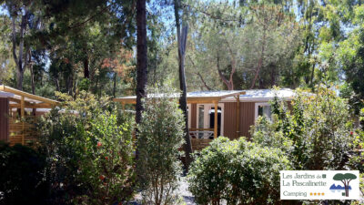 Premium mobile home rental – South of France