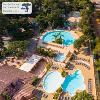 campsite Var water park swimming pools