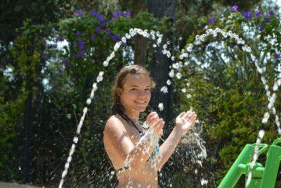 Water park water games campsite sud de la France