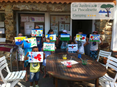 Campsite Hyères entertainment games activities